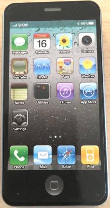 iphone ξύστρα μαύρη